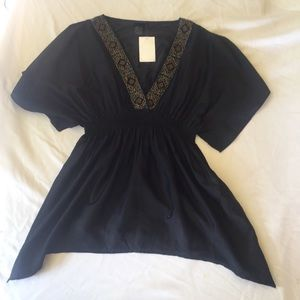 H&M NWT Beaded Blouse